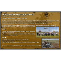 2-Day Long Range Shooting Course for 1 Person