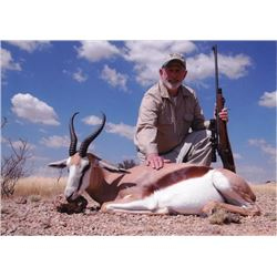 7-day Namibia Plains Game Hunt for Two Hunters
