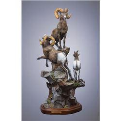 Full color Patina Bronze Artwork