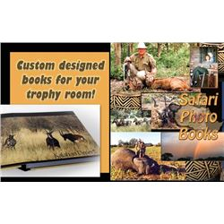 $500 Towards a Custom Safari Photo Book (A)