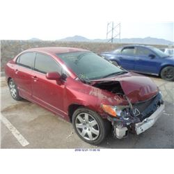 2008 - HONDA CIVIC// REBUILT SALVAGE