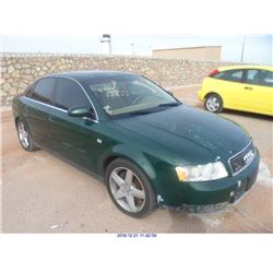 2002 - AUDI A4