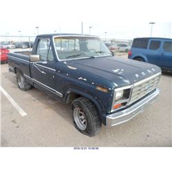 1981 - FORD F100
