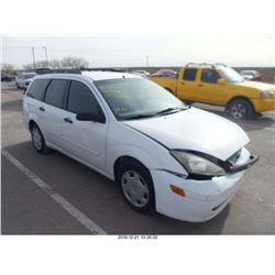 2004 - FORD FOCUS//REBUILT SALVAGE