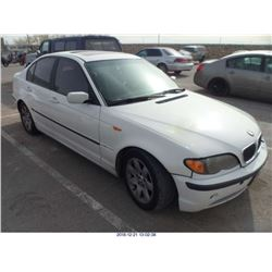 2002 - BMW 325I//REBUILT SALVAGE