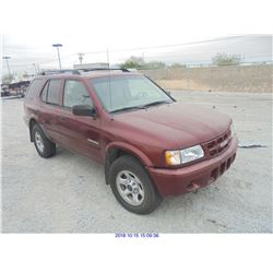 2002 - ISUZU RODEO