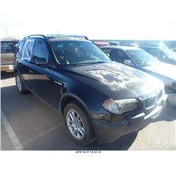 2004 - BMW X3