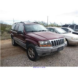 1999 - JEEP GRAND CHEROKEE LAREDO