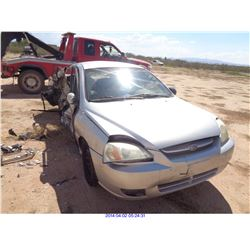 2003 - KIA RIO//RESTORED SALVAGE