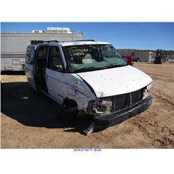 1995 - CHEVROLET ASTRO// SALVAGE TITLE