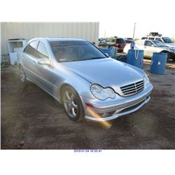 2007 - MERCEDES BENZ C-CLASS //RESTORED SALVAGE