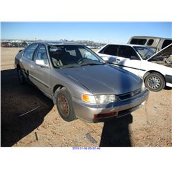 1996 - HONDA ACCORD //SALVAGE TITLE