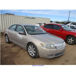 2007 - LINCOLN MKZ
