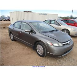 2006 - HONDA CIVIC HYBRID