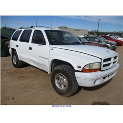 1998 - DODGE DURANGO//RESTORED SALVAGE