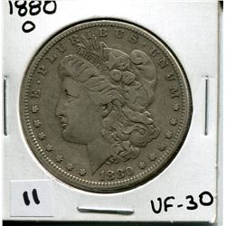 1880 U.S. SILVER DOLLAR *MORGAN*