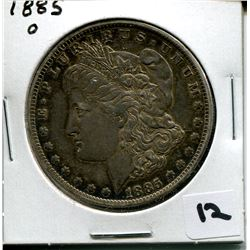 1885 O U.S. SILVER DOLLAR *MORGAN*