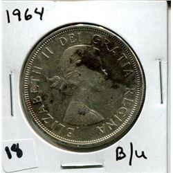 1964 B/U CANADIAN *SILVER* DOLLAR