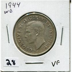 1944 CANADIAN 50 CENT COIN