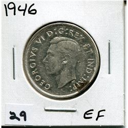 1946 CANADIAN 50 CENT COIN