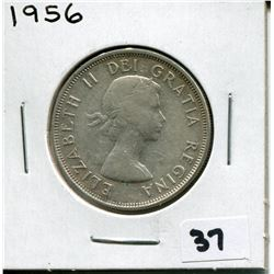 1956 CANADIAN 50 CENT COIN