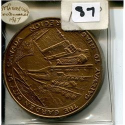 1967 ST. CATHERINES CENTENNIAL MEDALLION
