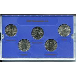 2000 U.S.A. 25 CENT MINT EDITION SET (PHILIDELPHIA)