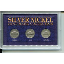 1943 U.S.A. *SILVER* NICKEL MINT COLLECTION