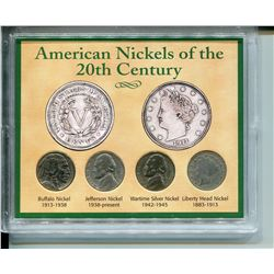 1907-1944 U.S.A NICKELS *OF THE 20TH CENTURY*