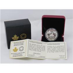 $15 FINE *SILVER* CANADIAN COIN (SERENE SCENE)