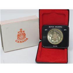 1971 SILVER DOLLAR (BRITISH COLUMBIA)