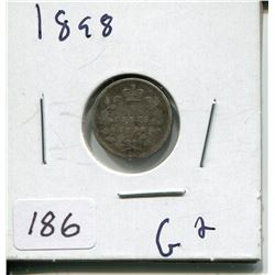 1898 CNDN SILVER NICKEL