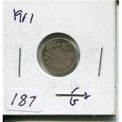 1901 CNDN SILVER NICKEL