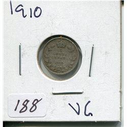 1910 CNDN SILVER NICKEL