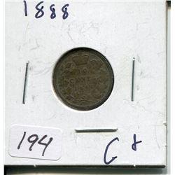 1888 CNDN SILVER DIME