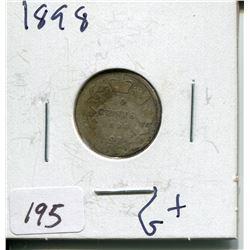 1898 CNDN SILVER DIME