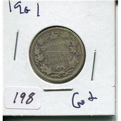 1901 CNDN SILVER QUARTER