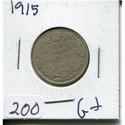 1915 CNDN SILVER QUARTER