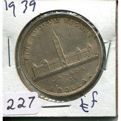1939 SILVER DOLLAR (CNDN)