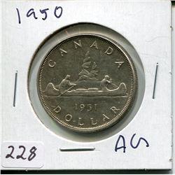 1950 SILVER DOLLAR (CNDN)