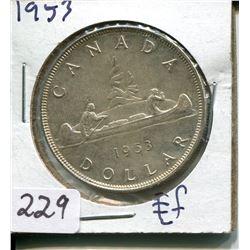 1953 SILVER DOLLAR (CNDN)