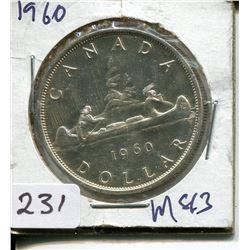 1960 SILVER DOLLAR (CNDN)