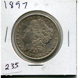 1897 SILVER MORGAN DOLLAR (USD)
