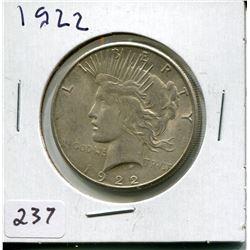 1922 PEACE DOLLAR (USD)