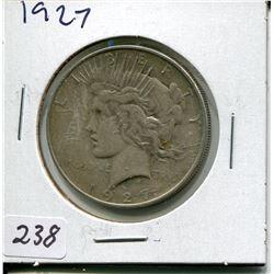 1927 PEACE DOLLAR (USD)