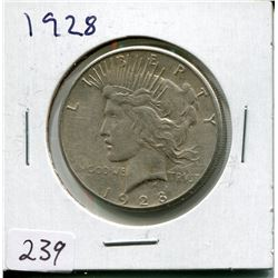 1928 PEACE DOLLAR (USD)