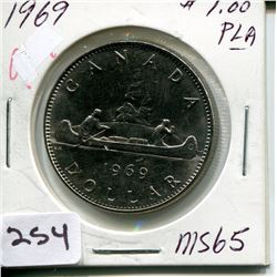 1969 CNDN DOLLAR *SILVER*
