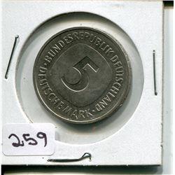 1975 FIVE MARK PC (GERMAN)