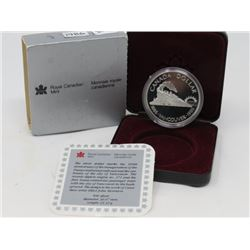 1986 SILVER DOLLAR PROOF (ROYAL CANADIAN MINT SILVER)