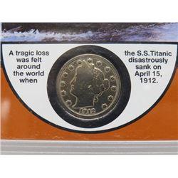 1912 'TITANIC SS' MINT COIN SET